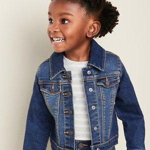 Arizona - Yellow Denim Jacket - (little girl)